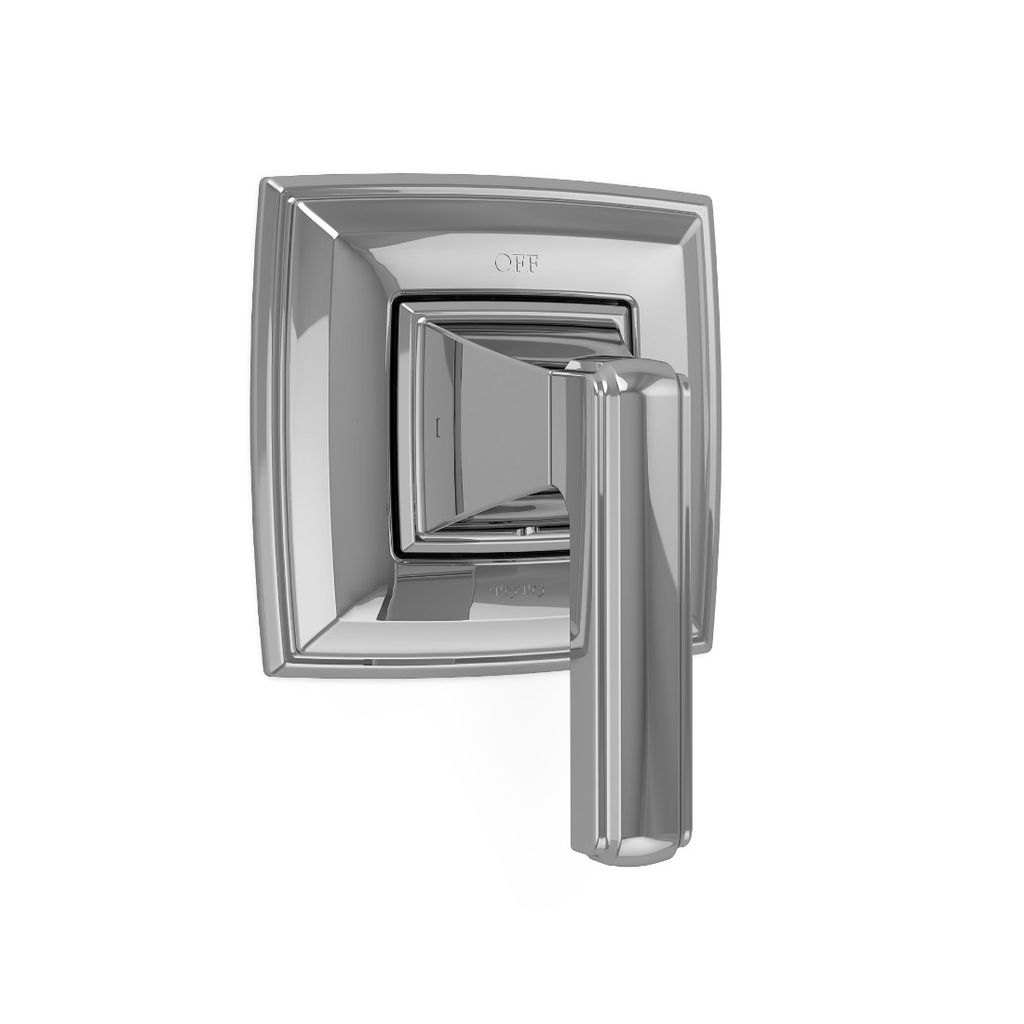 Toto Ts221d Connelly Two Way Diverter Trim With Off Chrome