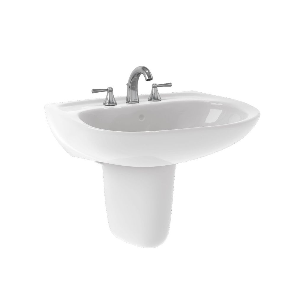 TOTO LHT242G Prominence Wall Mount Lavatory Sink Cotton - Home ...