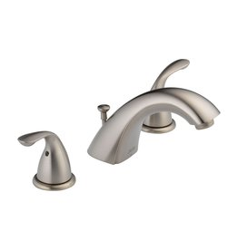 Delta Delta 3530LF Classic Two Handle Widespread Lavatory Faucet Brilliance Stainless
