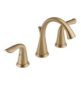 Delta Delta 3538 Lahara Two Handle Widespread Lavatory Faucet Champagne Bronze
