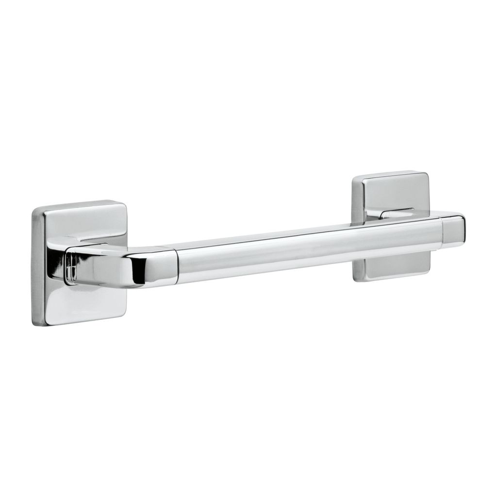 Delta Delta 41912 12 Angular Modern Decorative ADA Grab Bar Chrome