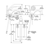 Delta Delta 520 Classic Single Handle Centerset Lavatory Faucet Brilliance Stainless