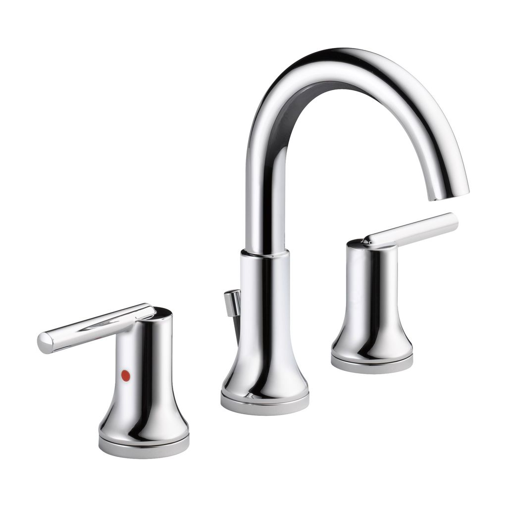 Delta Delta 3559 Trinsic Two Handle Widespread Lavatory Faucet Chrome