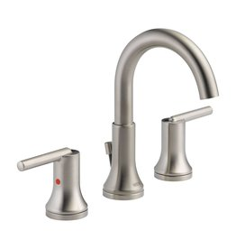 Delta Delta 3559 Trinsic Two Handle Widespread Lavatory Faucet Brilliance Stainless