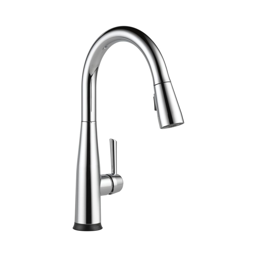 Delta 9113T Essa Single Handle Pull Down Kitchen Faucet Touch2O ...
