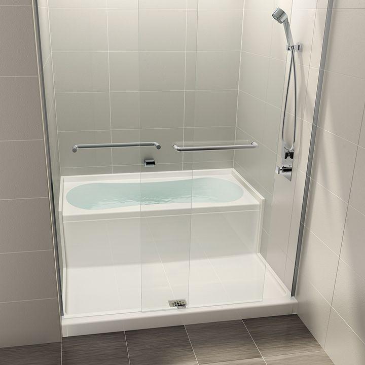 Aquabrass Aquabrass B2001 Aquazone Shower Bath Space Saving Wet Zone