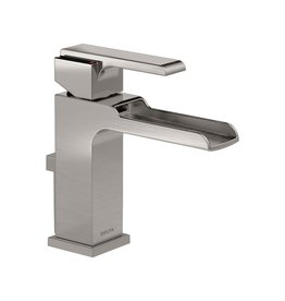 Delta Delta 568LF Ara Single Handle Channel Lavatory Faucet Brilliance Stainless
