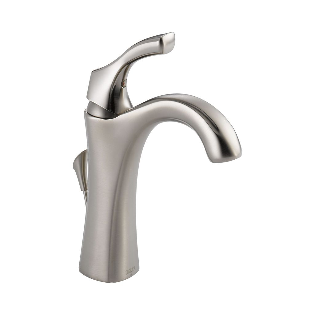 Delta Delta 592 Addison Single Handle Lavatory Faucet Brilliance Stainless