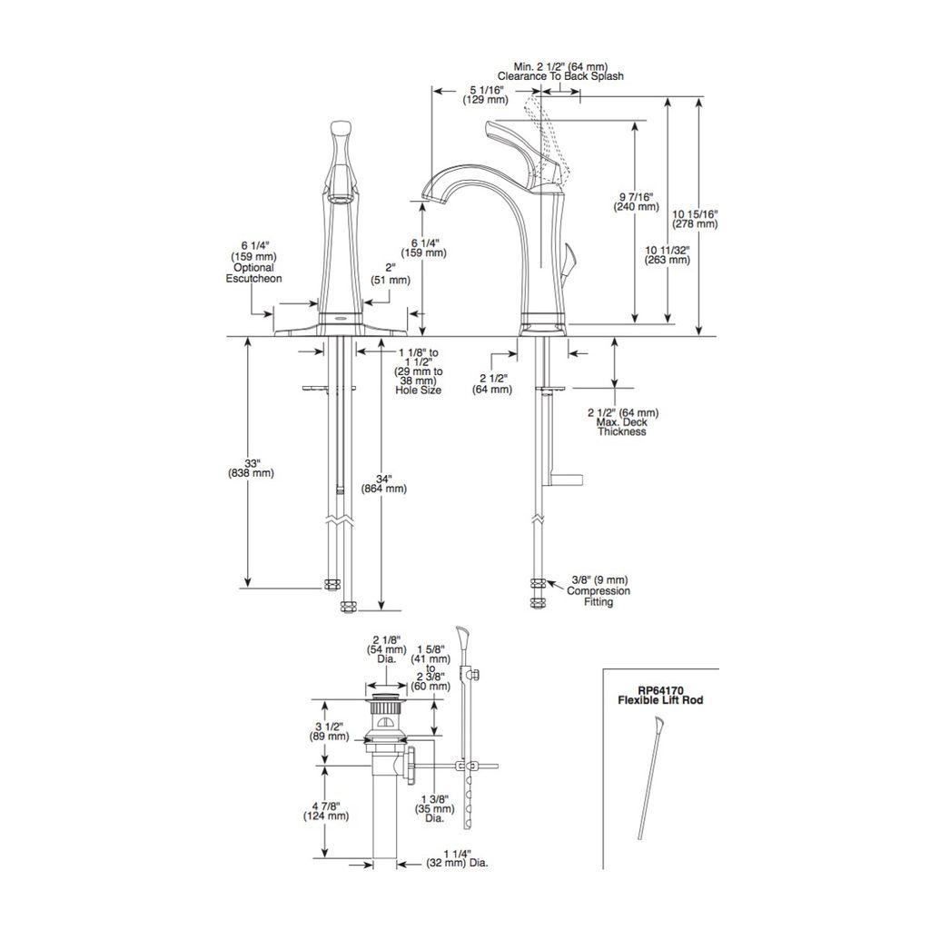 Delta Delta 592T Addison Single Handle Lavatory Faucet Touch2O Venetian Bronze