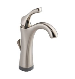 Delta Delta 592T Addison Single Handle Lavatory Faucet Touch2O Brilliance Stainless