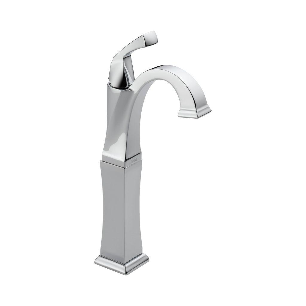 Delta Delta 751 Dryden Single Handle Vessel Lavatory Faucet Chrome