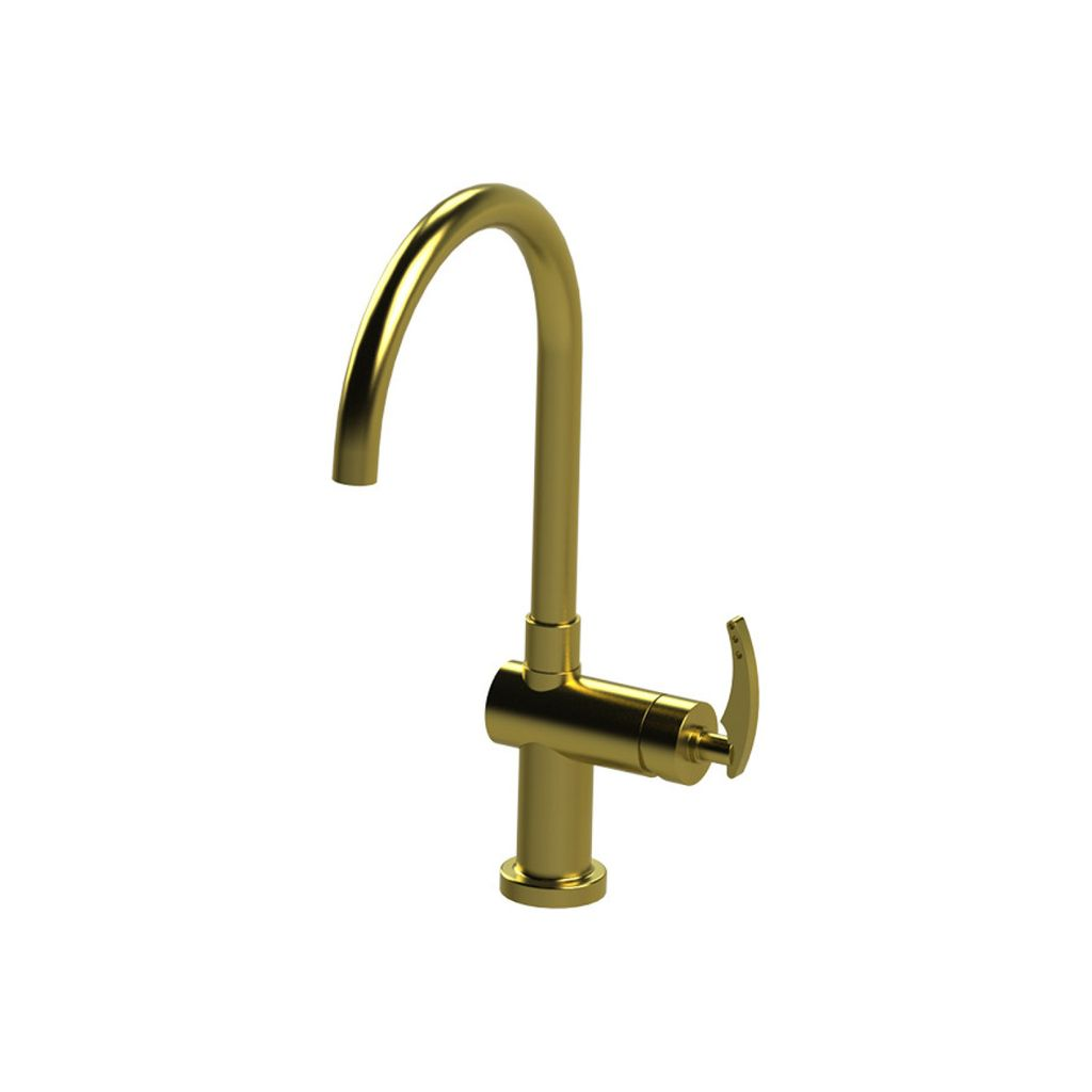 Rubinet Rubinet 8DLALSBSB LaSalle Single Control Kitchen Set Satin Brass