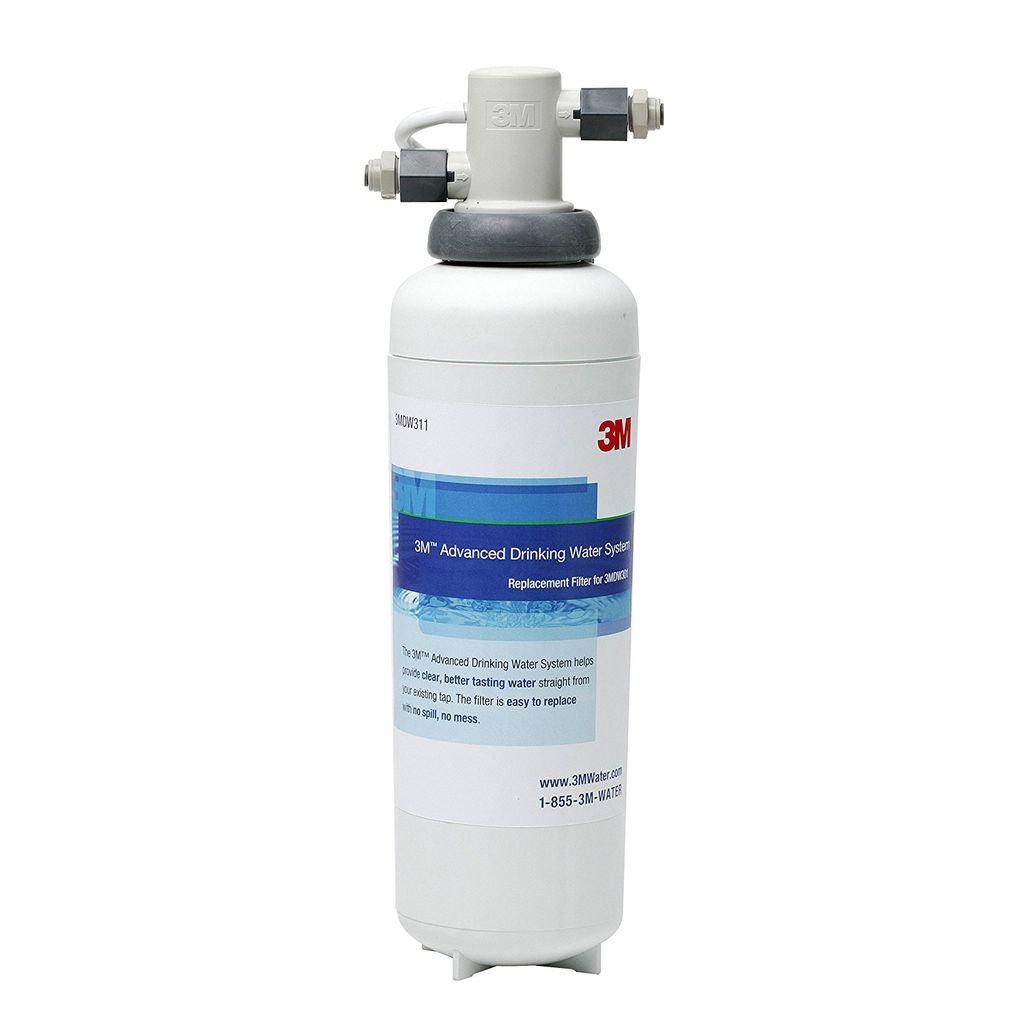 3M 3M DW301 Under Sink Dedicated Faucet Water Filter System