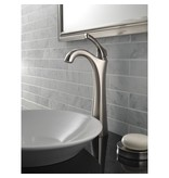 Delta Delta 792 Addison Single Handle Vessel Lavatory Faucet Brilliance Stainless