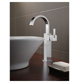 Delta Delta 753LF Vero Single Handle Vessel Lavatory Faucet Brilliance Stainless