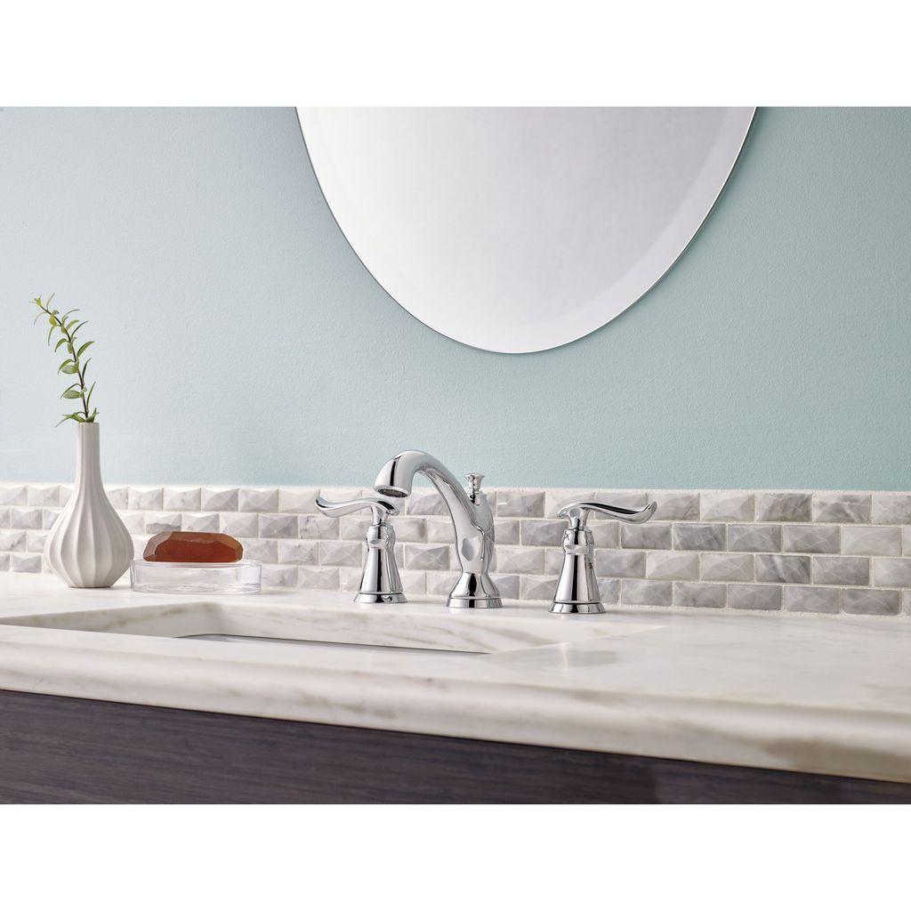 Delta Delta 3594 Linden Two Handle Widespread Lavatory Faucet Venetian Bronze