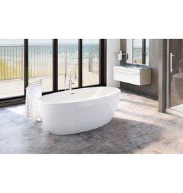 Fleurco Fleurco BVO5531 Voce Petite Acrylic Bathtub White