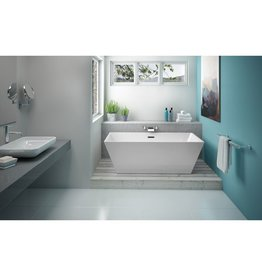 Fleurco Fleurco BCA6829 Calando Grande Acrylic Bathtub White