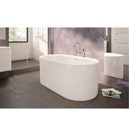 Fleurco Fleurco BRE5731 Refrain Acrylic Bathtub White