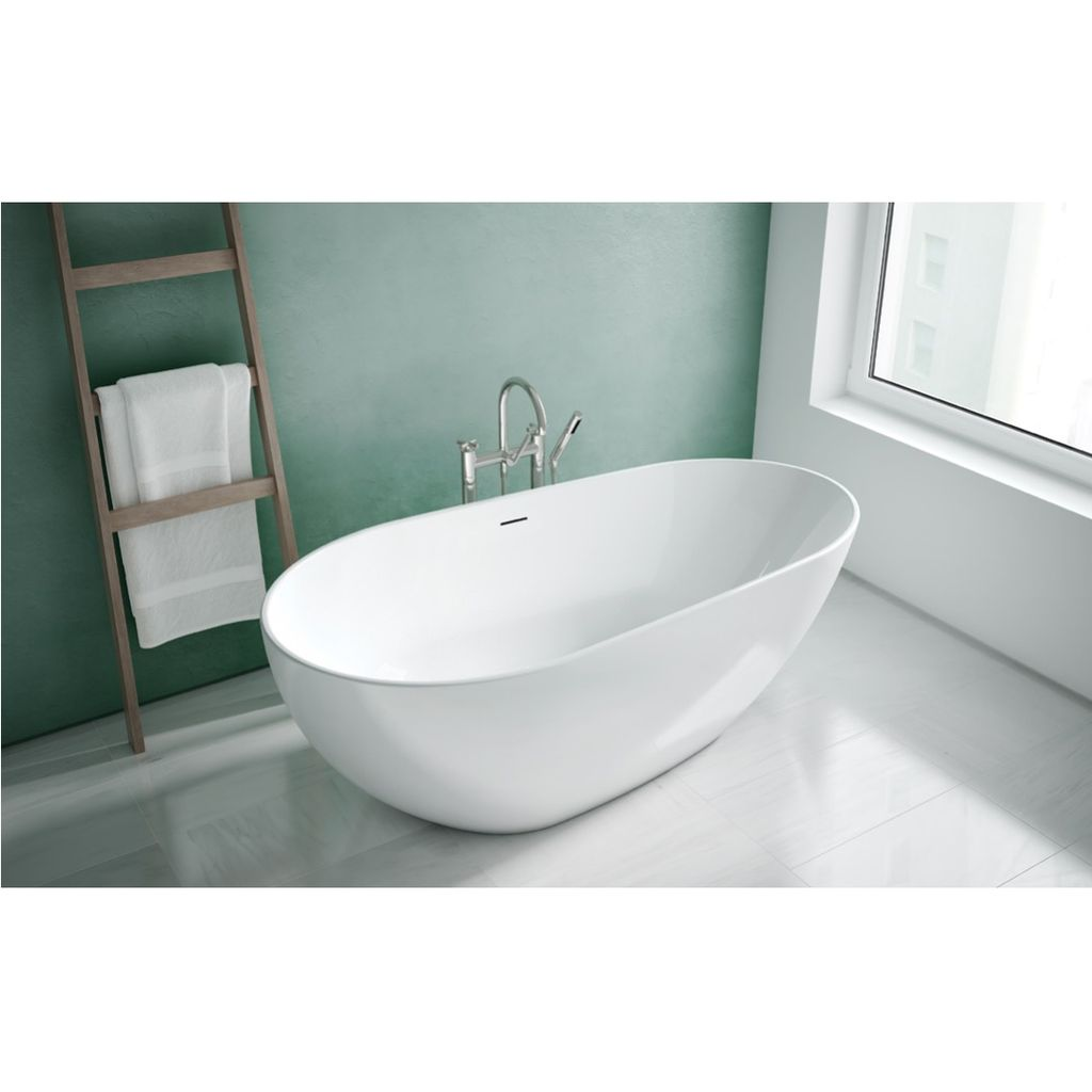 Fleurco BBU6733 Burletta Acrylic Bathtub White - Home Comfort Centre