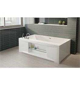Fleurco Fleurco BSO6039 Sonnet Acrylic Bathtub White