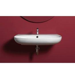 Simas Simas VI11 Vignoni 31 Wash Basin With Single Faucet Hole White Glossy