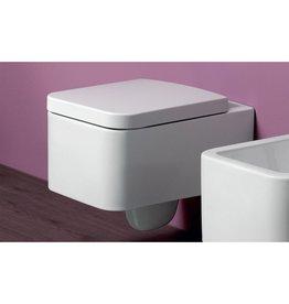 Simas Simas FL28 FLow Toilet Seat Spare Part White Glossy