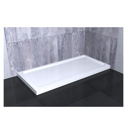 SLIK Slik A60SB32 Soho 60 Rectangular Corner Base Left Drain White