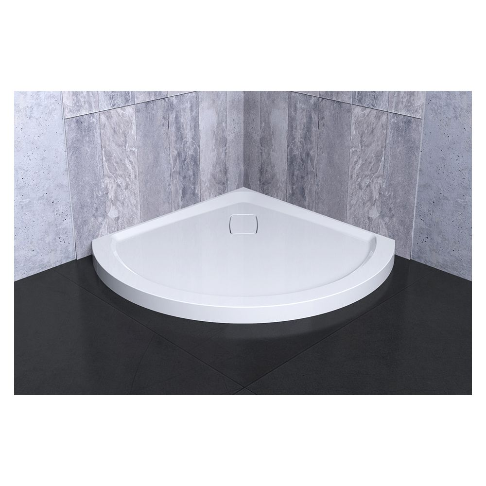 SLIK Slik A36BB36 Soho 36 Acrylic Shower Base With Corner Drain