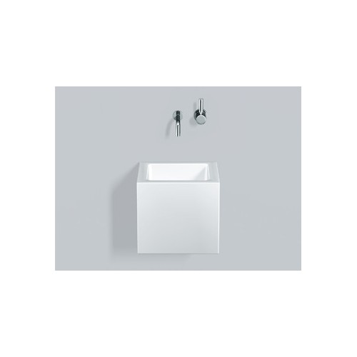 Alape Alape 4272000000 WT.QS325X Washstand Square White