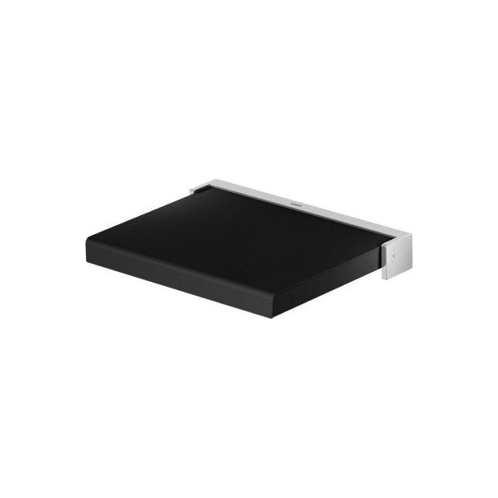duravit 791873 openspace b shower seat black home comfort centre. Black Bedroom Furniture Sets. Home Design Ideas