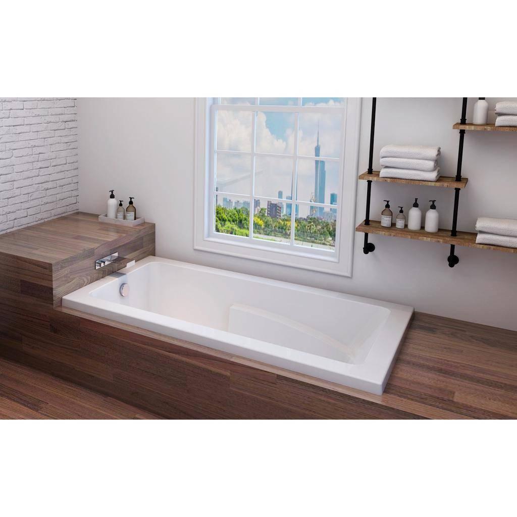 Oceania ZI60 Zion 60 Deck Mount Bathtub White - Home Comfort Centre