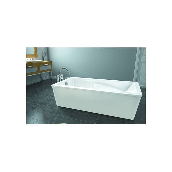 Oceania Oceania SU6032FS Sublime 60 Freestanding Bathtub Super Aero Massage White