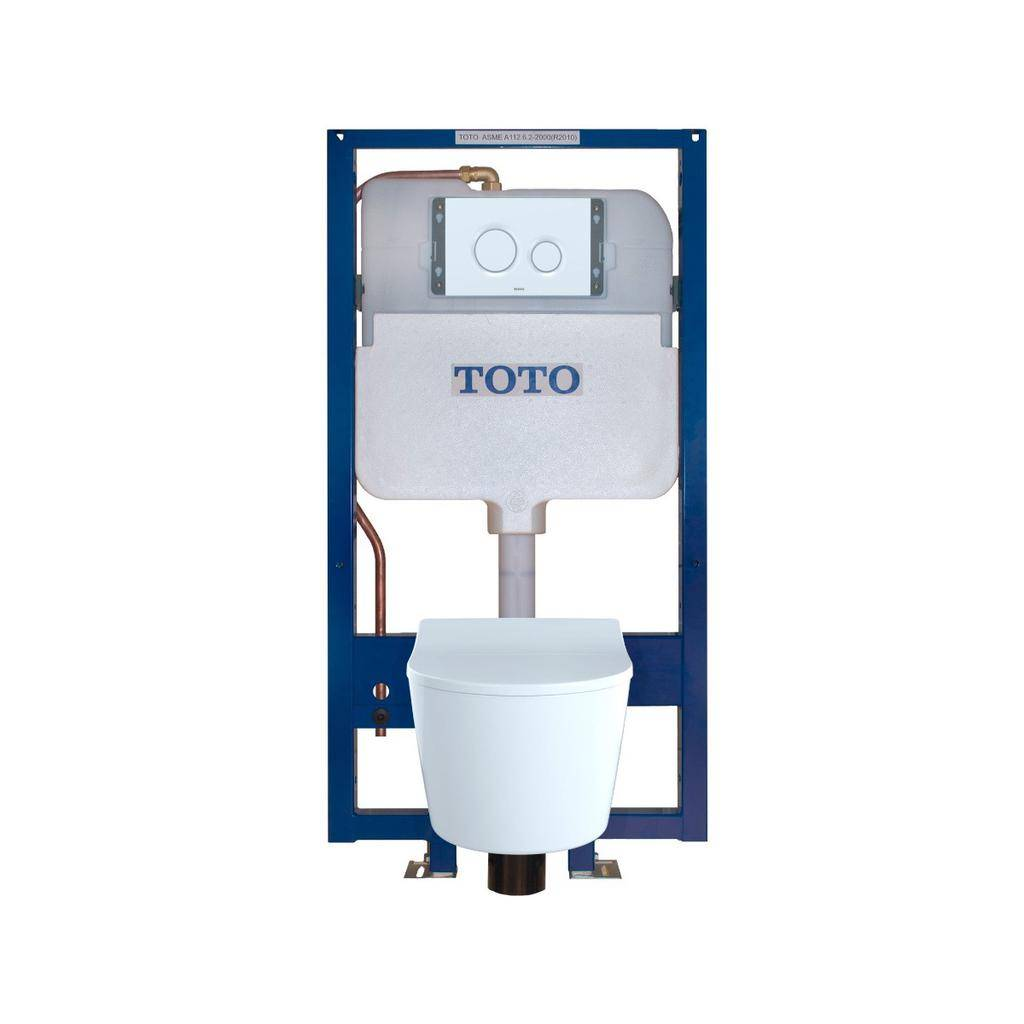 TOTO CWT447247CMFG RP Wall Hung Toilet In Wall Tank System White ...