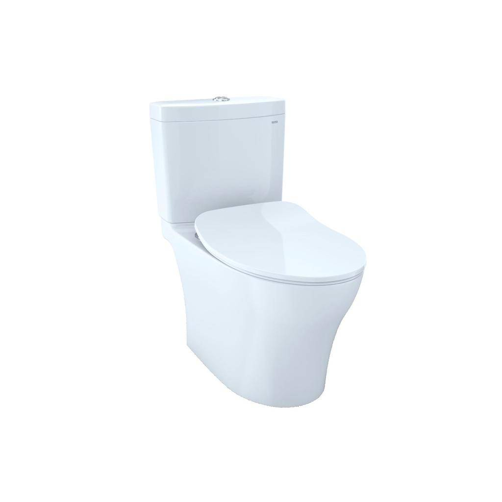 Toto TOTO MS446234CEMFG Aquia IV Toilet Universal Height WASHLET+ Connection Cotton