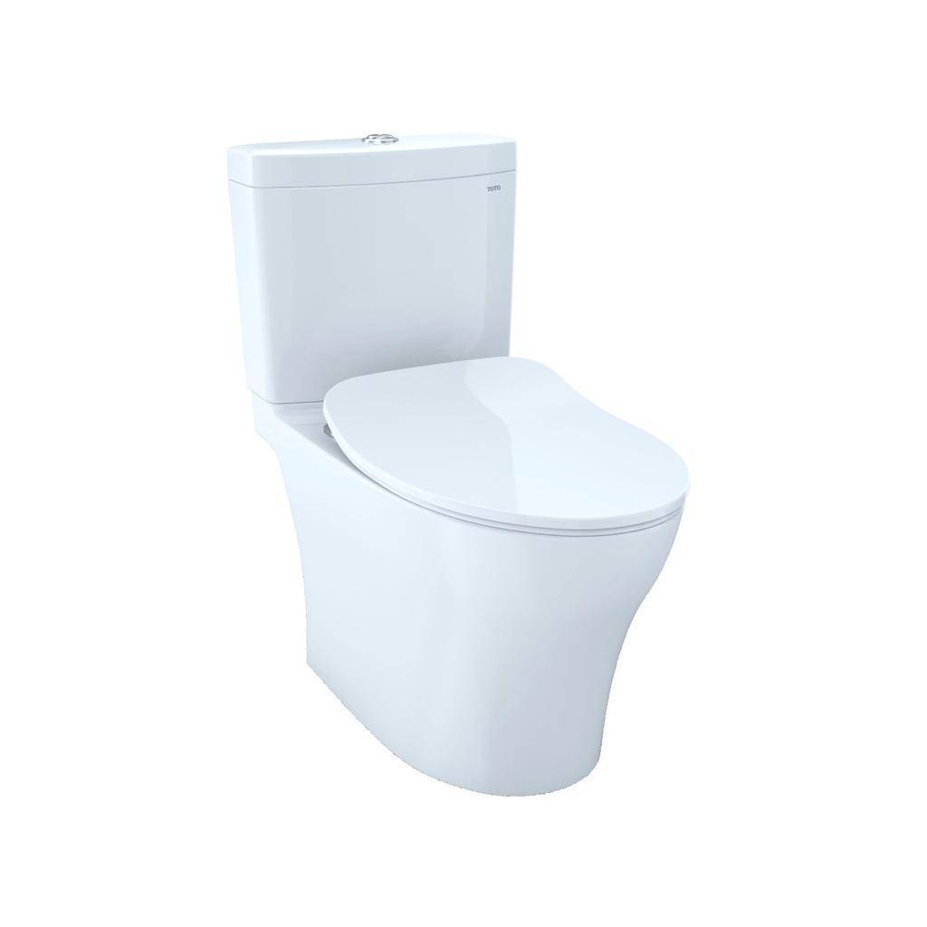 Toto TOTO MS446234CEMG Aquia IV Elongated Toilet WASHLET+ Connection Cotton
