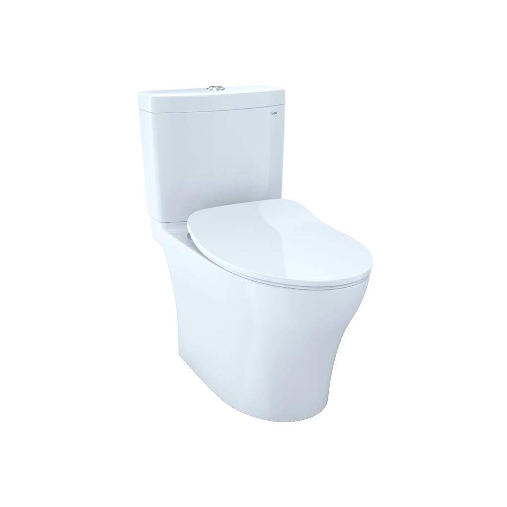 Toto TOTO MS446234CUMFG Aquia IV Toilet Universal Height WASHLET+ Connection Cotton