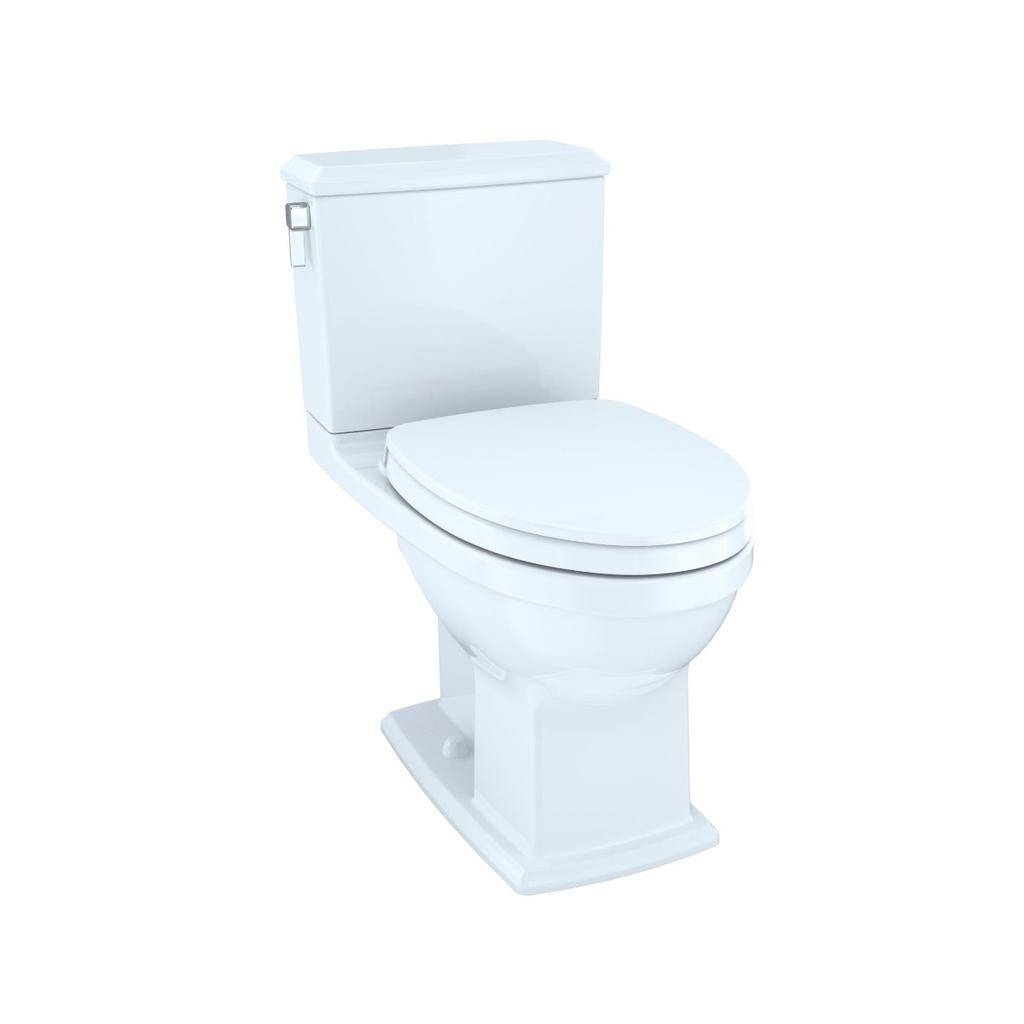 Toto TOTO MS494124CEMFG Connelly Two Piece Toilet WASHLET Connection Cotton Right Hand