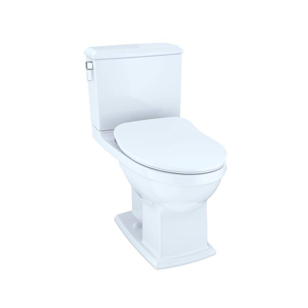 Toto TOTO MS494234CEMFRG Connelly Two Piece Toilet WASHLET Connection Cotton Right Hand