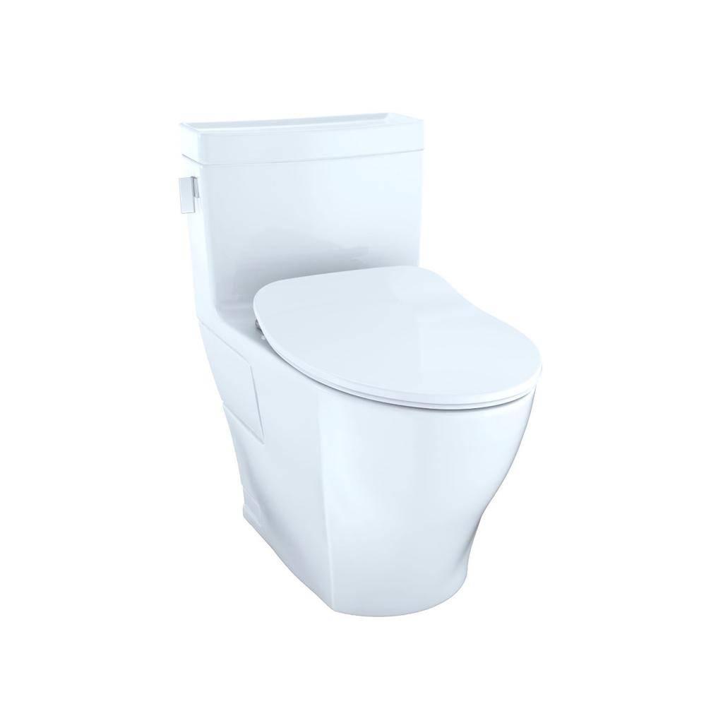 Toto TOTO MS624234CEFG Legato One Piece Elongated Toilet WASHLET Connection Cotton