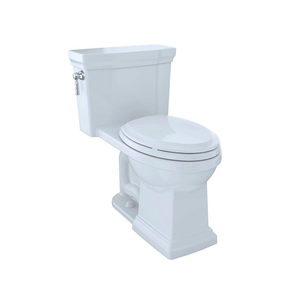 Toto TOTO MS814224CUFRG Promenade II 1G One Piece Toilet Cotton Right Hand