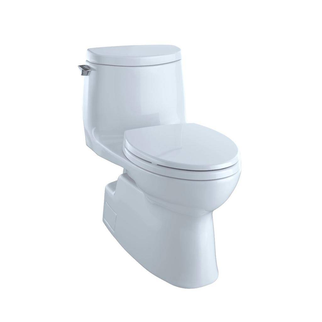 Toto TOTO MS614114CUFRG Carlyle II 1G One Piece Elongated Toilet Cotton Right Hand