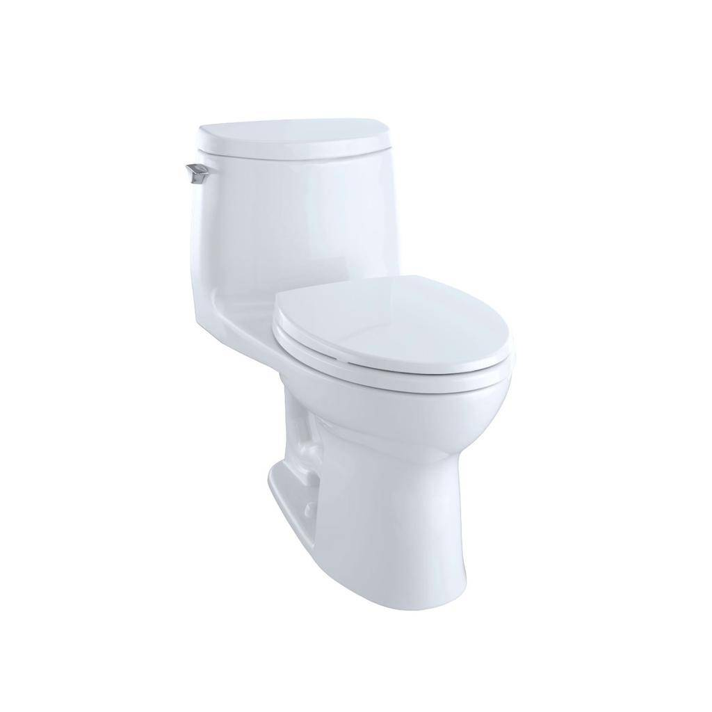 Toto TOTO MS604114CUFRG UltraMax II 1G One Piece Toilet Cotton Right Hand
