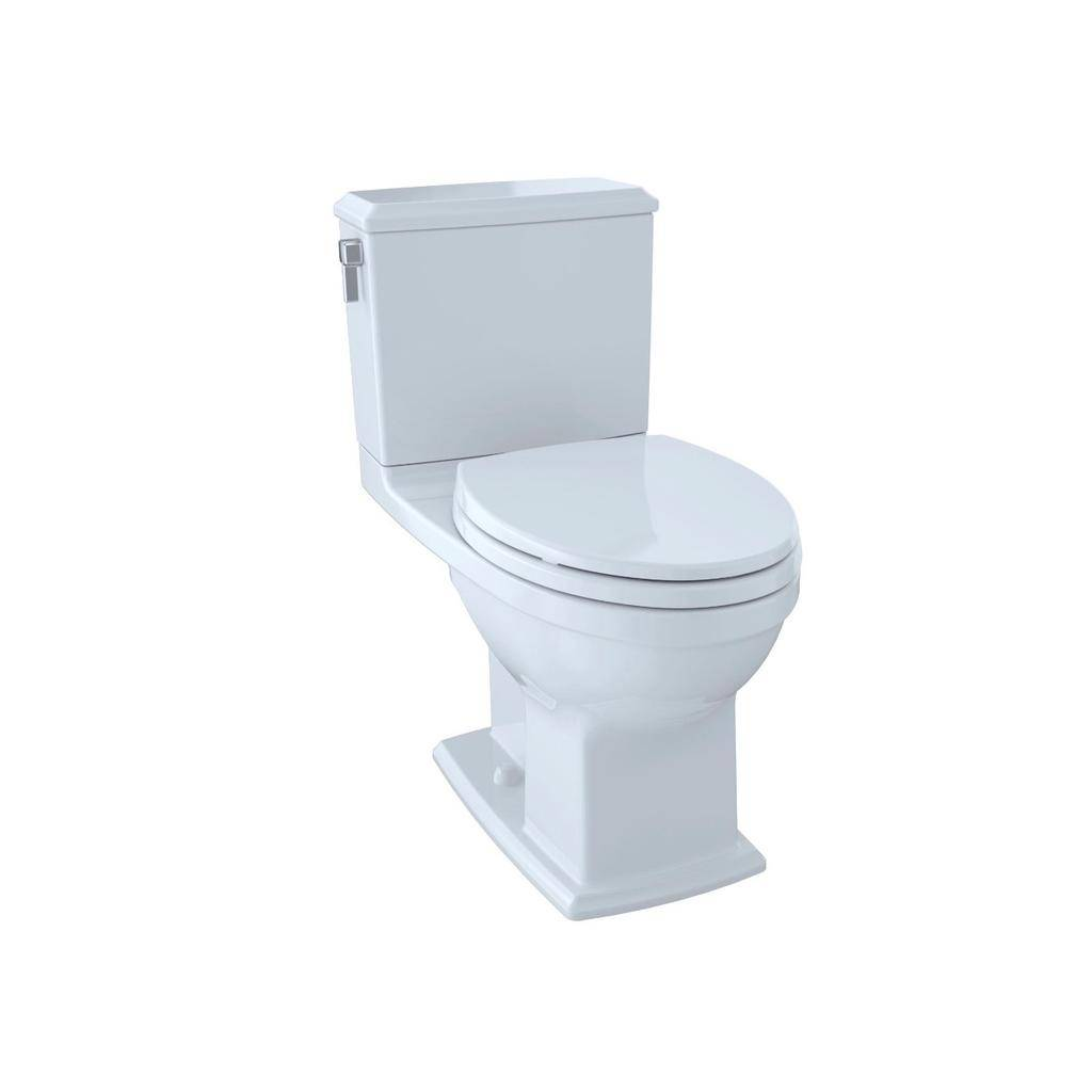 Toto TOTO CST494CEMFRG Connelly Two Piece Elongated Toilet Cotton Right Hand