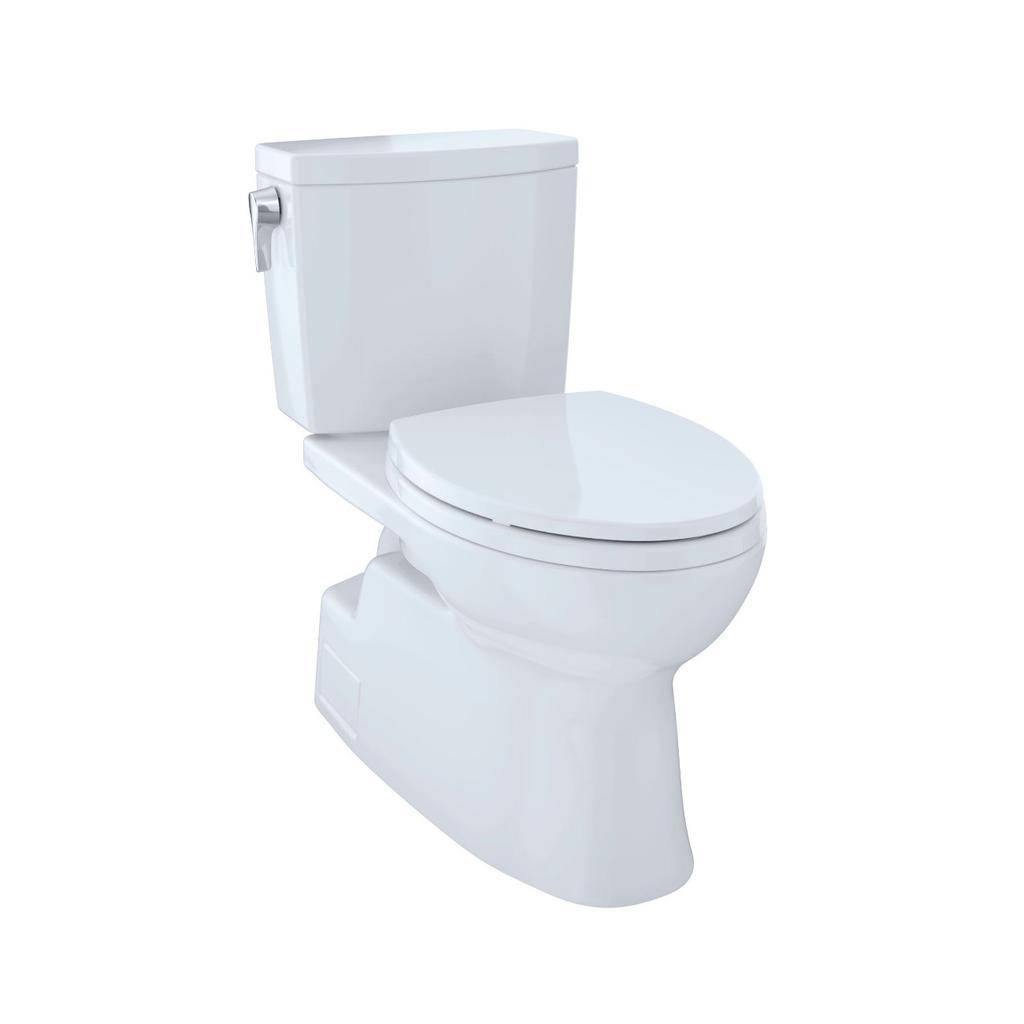 Toto TOTO CST474CUFRG Vespin II 1G Two Piece Elongated Toilet Cotton Right Hand