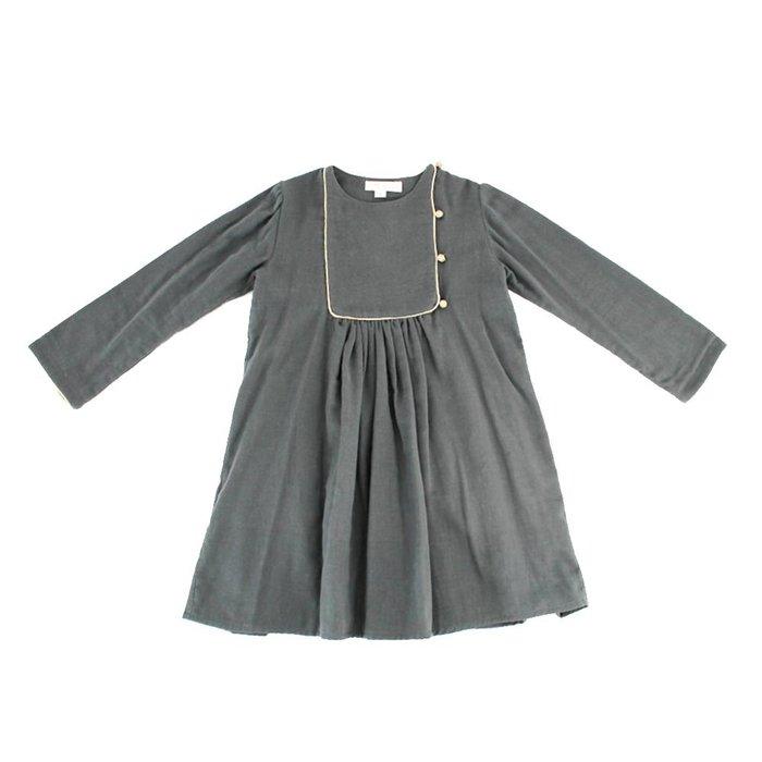 Belle Chiara Gold Trimmed Dress