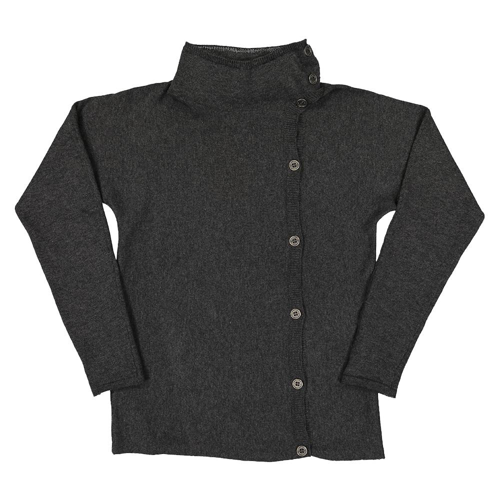 Coco Blanc Side Button Sweater