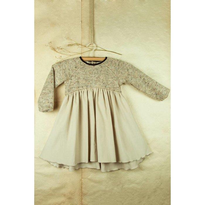 Popelin Grey Knit Dress