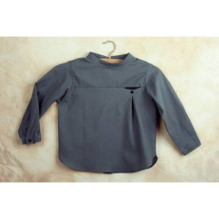 Popelin Grey Shirt