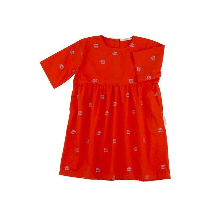 Club Sandwich Dress Red